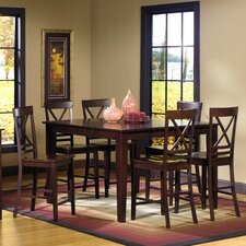 Winston 7 Piece Counter Height Dining Set