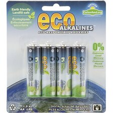 Alkaline AA Battery (Set of 4)