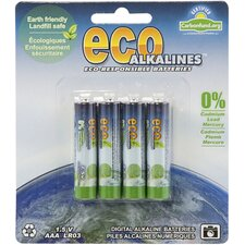Alkaline AAA Battery (Set of 4)