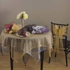 Dotted Organza Table Topper