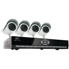 8-Channel Smart DVR Security System