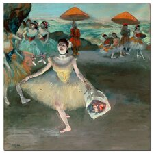 """Dancer with Bouquet, 1877"" Canvas Art"