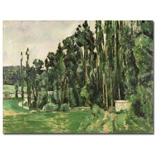"""The Poplar, 1879"" Canvas Art"