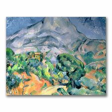 """Mont Sainte-Victories"" Canvas Art"