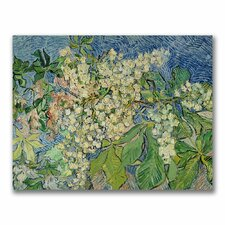 """Blossoming Chesnut Branches"" Canvas Art"