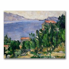 """View of Mount Marseilleveyre"" Canvas Art"