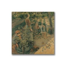 """The Apple Pickers"" Canvas Art"