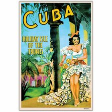 'Cuba Holiday Isle' Canvas Art