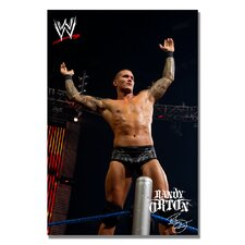 'WWE Randy Orton' Canvas Art