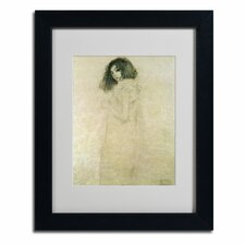 """Portrait of a Young Woman, 1896-97"" Framed Art"
