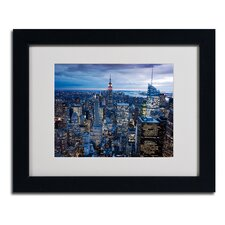 """New York City, NY"" Framed Art"