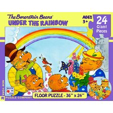 Berenstain Bears Under the Rainbow 24-Piece Floor Puzzle
