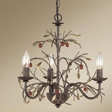 Amberbrooke 3 Light Mini Chandelier