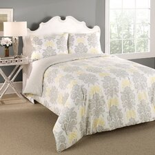 Tatton Reversible 3 Piece Comforter Set