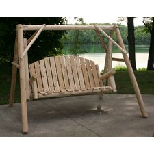 Country Garden Porch Swing with Stand