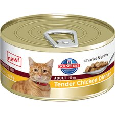 Adult Tender Chicken Dinner Wet Cat Food