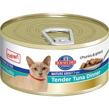 Mature Adult Tender Tuna Dinner Wet Cat Food