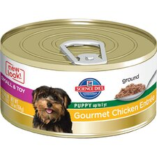 Small and Toy Puppy Gourmet Chicken Entrée Wet Dog Food (5.8-oz)