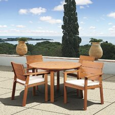 Amazonia Vincent 5 Piece Dining Set