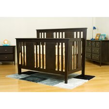 Avatar Convertible Crib 3 Piece Nursery Set