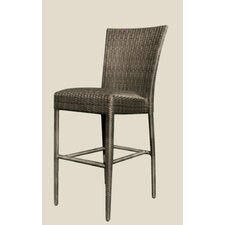All-Weather Padded Seat Counter Stool without Arm