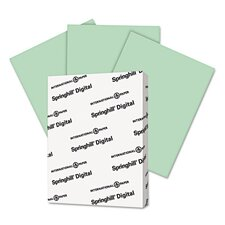 Digital Index White Card Stock