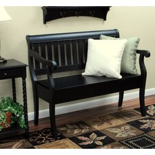 Veranda Wooden Entryway Storage Bench