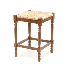 "Hawthorne 24"" Walnut Counter Stool"
