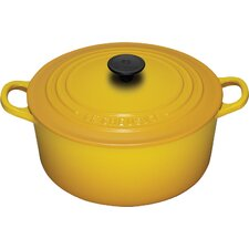 Enameled Cast Iron 3 1/2-Qt. Round Dutch Oven
