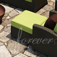 Barbados Ottoman with Cushion