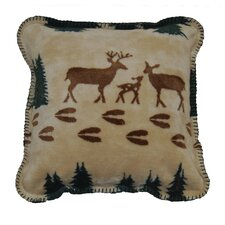 Acrylic / Polyester Deer Pillow