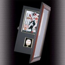 Coach's Choice Baseball and Photo Shadow Box Display
