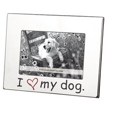 "Home ""I Love My Dog"" Picture Frame"