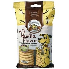 Vanilla Flavor Sandwich Cremes Dog Treat