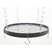 Gourmet Custom Round Hanging Pot Rack