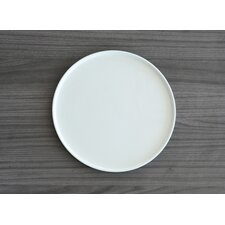 White Tie Porcelain Round Serving Tray