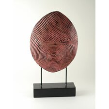 Carved Thumb Print Sculpture