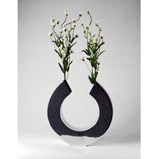Aluminum Circle Cut Hole Vase