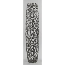 Aluminum Twigs Barrel Vase
