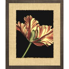 Floral Living Vibrant Tulips I Framed Wall Art