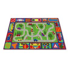 Driving Road Kids Rug