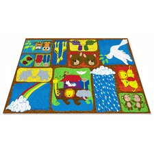 Noah's Story Sunday School Kids Rug