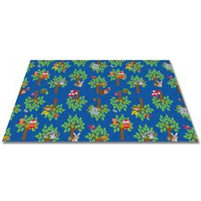 Woodland Wonders Animal Kids Rug