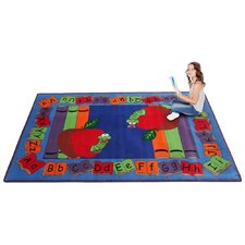 Let's Book It Story Kids Rug