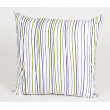 LuLu Square Pillow with Stripes
