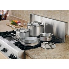 Multiclad Pro Stainless Steel 7-Piece Cookware Set