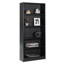 "Essentials 71.5"" X 31"" Tall Bookcase in Black"