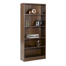 "Essentials 71.5"" X 31"" Tall Bookcase in Truffle"