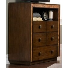 Jimbaran Bay 5 Drawer Media Chest