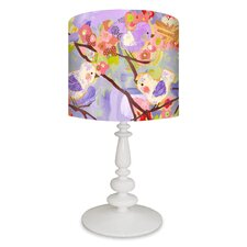 Cherry Blossom Birdies Table Lamp